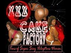 CakeFactory Ebony BBW Q