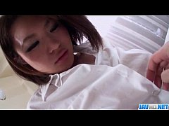Housewife sucks cock and gets fucked in harsh m...