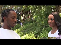 Chanell Heart gets gangbanged by a group of whi...