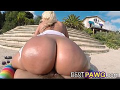 Blondie Fesser Puts Her Big Ass To Work That Dick!
