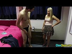 Clothed babes humiliate