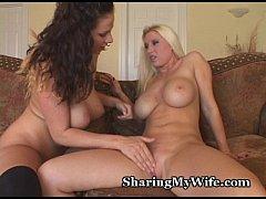 Hot Lesbian Pussy Fucking