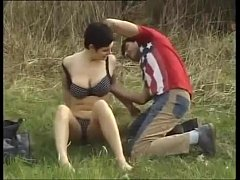 Stunning german milf with fat tits gets fucked ...