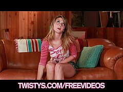 sexy petite teen staci silverstone fingers herself for the camera