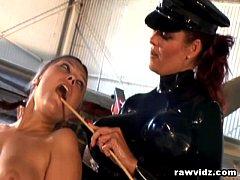 Mistress Aracadia And Vanessa Lynn Strap On Les...