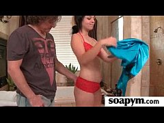 sexy shower soapy massage 12
