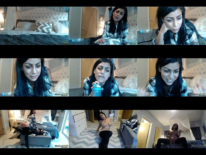 Morena gostosa se exibindo na webcam enfiando seus dedinhos no cu