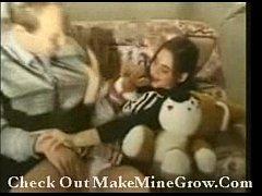 Innocent Young Brunette Sucks And Fucks