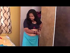 HOT AUNTY CHANGING HER DRESS FOR PLAYINY BASKET...