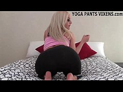I got these hot new yoga pants just for you