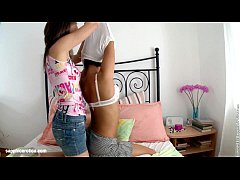 Ilina and Lauren lesbian anal play with huge dildo on Sapphic Erotica