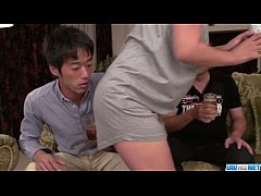 Strong Asian gangbang sex scenes along Ry ...