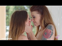 Sapphic Erotica presents Misha Cross and Samantha Bentley having lesbian sex