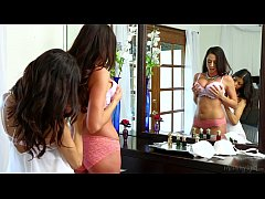 Veronica Rodriguez Helps Her Friend Step-Mom Ar...