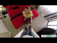 PornGoesPro - Watch Angel Smalls getting pounde...