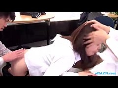 Office Lady Sucking Cocks Fucked By Guys In The Office