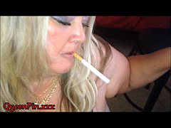 Smoking Blowjob Cumshot While Watching Porn