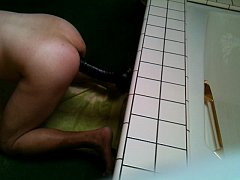 """Straight guy's ass swallowing 9"""" black 17x 8"""" d..."""