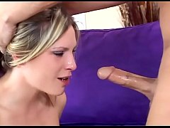 Harmony anal in stockings and black high heels