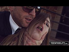 TEENFIDELITY Alex Blake Tied Up and Creampied