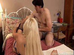 Kayla Kupcakes is a beautiful big tits blonde MILF