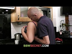 Wife catches her hubby with BBW girlfriend