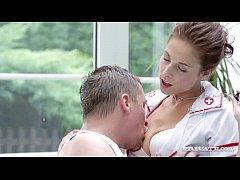 Nurse Antonia Sainz Rides Her Firm Ass On a Sti...