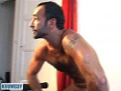 kamel, a sexy mature sport arab guy get wanked ...