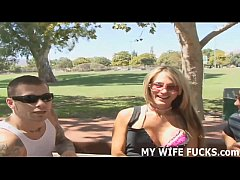 You will love watching your wife take a big por...
