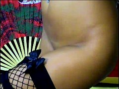 Sexy webcam girl Squirell playing with her titt...
