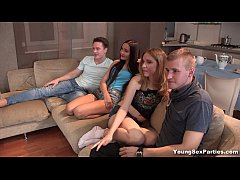 Young Sex Parties - Foursome tube8 gang-bang re...