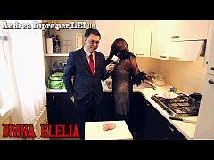 Mistress Divina Klelia destroys and cooks a cou...
