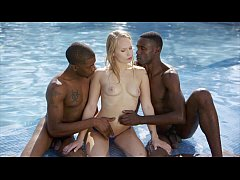 BLACKED First Interracial For Spanish Babe Alex...