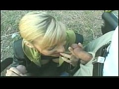 German Amateur outdoor Group sex