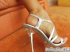 Ass Traffic Hot blonde is anally penetrated and...