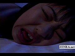 Subtitled uncensored nocturnal Japan schoolgirl...