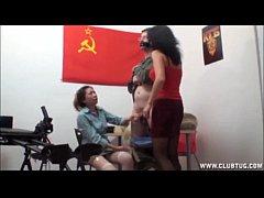Asian Interrogation Handjob