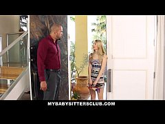 MyBabySittersClub - Pale Skinned BabySitter Punished by Homeowner