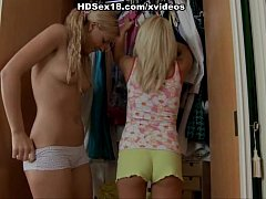 two young blondes fucked hard