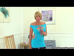 British and busty milfs Lily and Amy need getti...