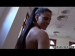 European hottie Athina Love screwed up in excha...