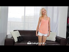 CastingCouch-X - Tiny blonde spinner Maddy Rose...