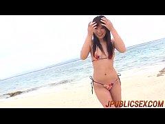 Nanaka Kyono spreads legs in amazing porn show