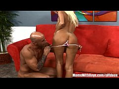 Busty Blonde Mom Rhyse Richards Picked-Up and F...