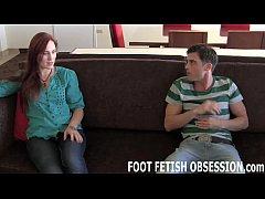 Jolene lets Lance worship her sexy feet