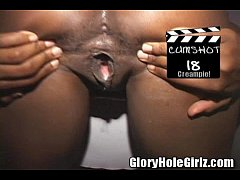 Submissive Monique Anal Fucking and Setting Records At The Glory Hole