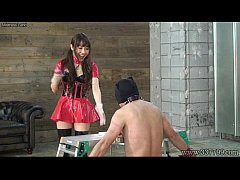 Japanese Mistress Emiru Femdom Two Male Slaves