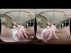 Schoolgirl Seduces Her Piano Teacher! (VR)