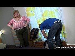 Nasty BBW seduces well-shaped masseur