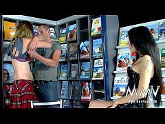 MMV FILMS Teen German Couple takes counseling